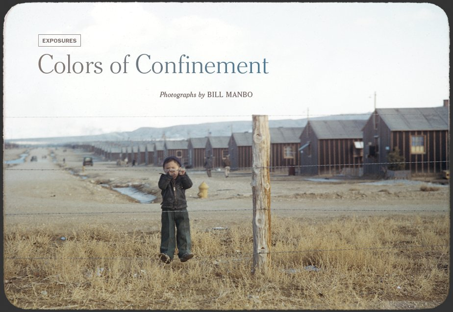 Colors of Confinement: Photography by Bill Manbo