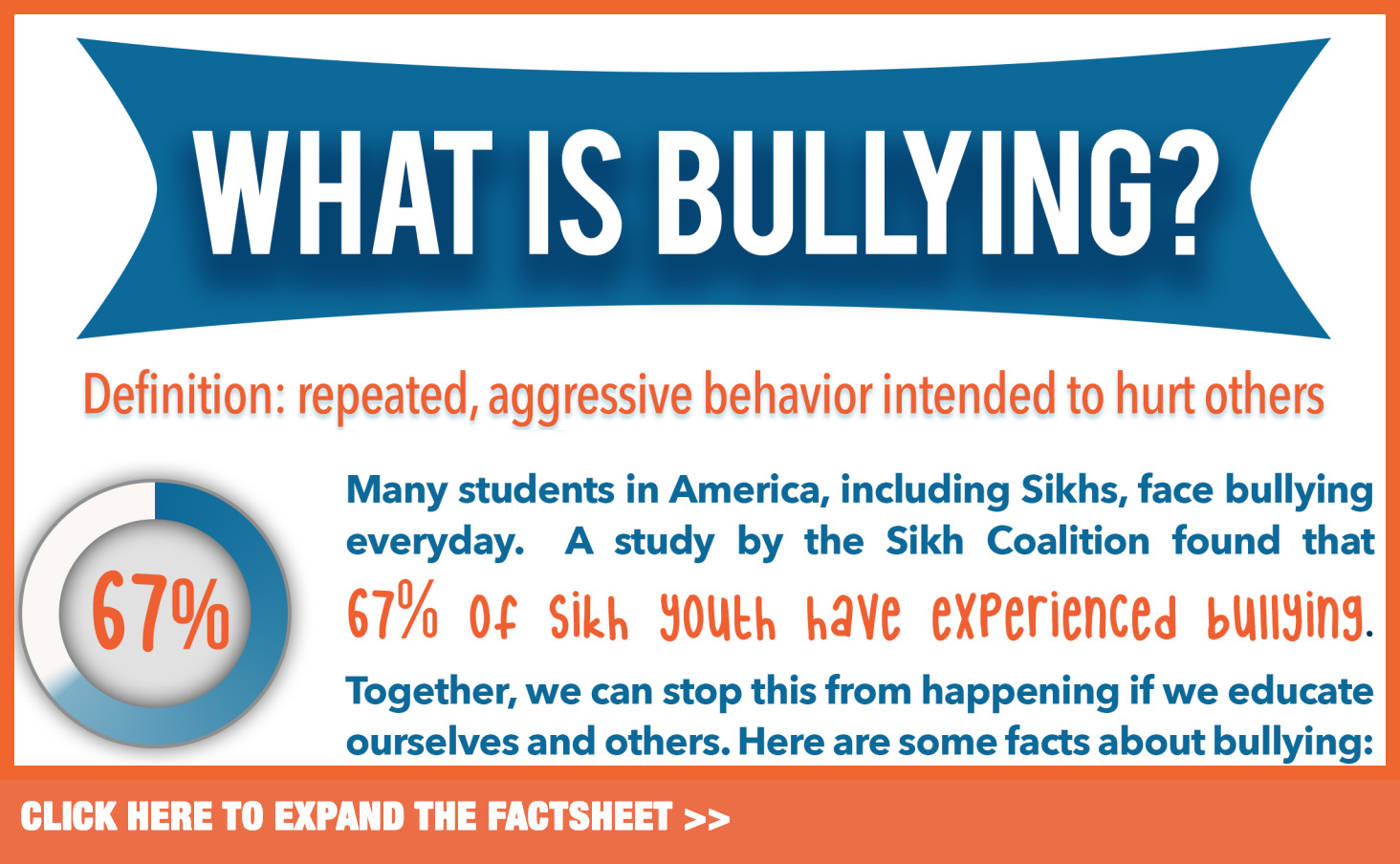 Taking on the Bully: A Weekly Series