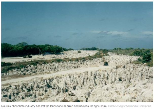 How the entire nation of Nauru almost moved to Queensland