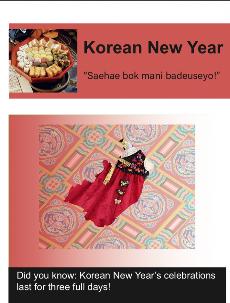 Korean New Years Traditions