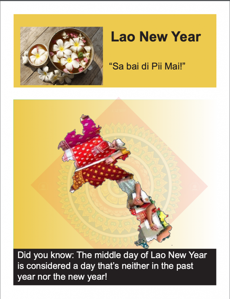 Lao New Years Traditions